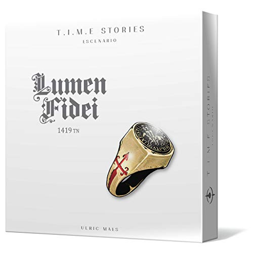 Space Cowboys- T.I.M.E. Stories: Lumen Fidei, Color (Asmodee SCTS06ES)