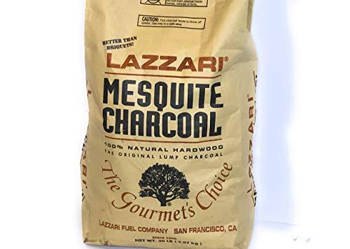 Lazzari 20lb Mesquite Charcoal