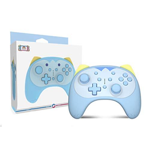 JINQII Controlador sem fio Switch Pro para Nintendo Switch/Lite - Switch Remote Joypad Gamepad, Cartoon Kitten Controller Gamepad com Dupla Vibração, Turbo, Tomada para Fone de Ouvido, Carregamento Tipo C