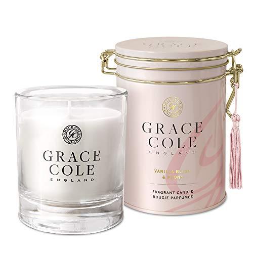 Grace Cole Vanilla Blush & Peony Candle 200g