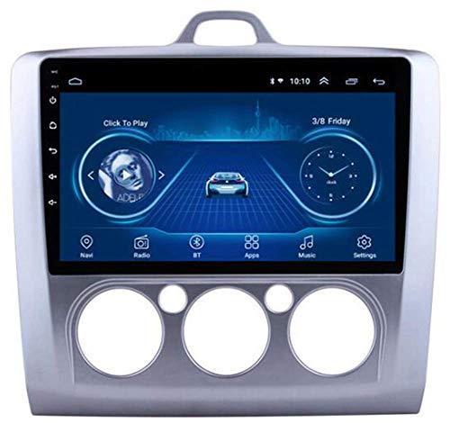 Android 8.1 Estéreo de navegación para automóviles con Pantalla táctil de 9 Pulgadas para Ford Focus 2006-2014 Coche Entretenimiento Multimedia Radio, WiFi/BT Anexo de Internet, Soporte Bluetooth