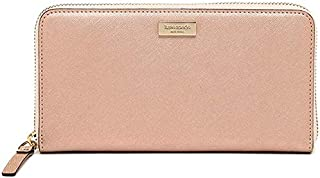 Kate Spade WLRU1498-717 NEDA Newbury Lane Zip Around Wallet - Rosegold