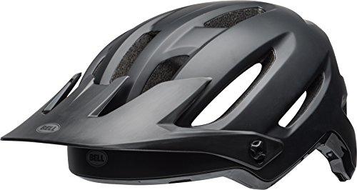 BELL 4Forty Casco de Ciclismo, Unisex Adulto, Negro Mate/Brillante, Medium (55-59 cm)