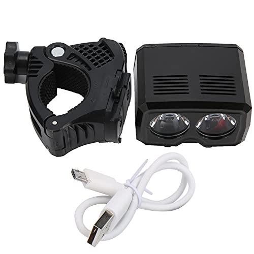 Deror Bike Headlight Bicycle Front LED Light Bike USB Rechargeable IPX6 Waterproof Headlight for Night Riding