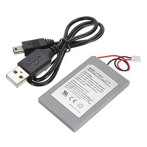 Batterie des GTF 1800 mAh Ersatzbatterie für PS3 Controller Spielmaschine Zubehör Heimkino Perfekte Passform 1800 mAh (a)