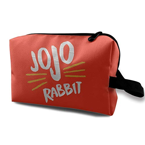Rabbit Full-Size Double-Sided Printed Travel Cosmetic Bag