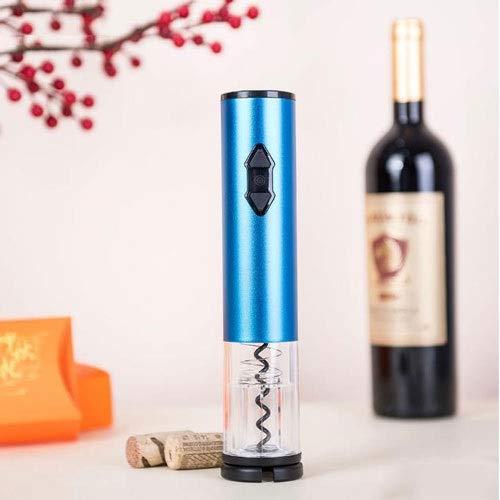 LYX 2019 Nuovo elettrica ricaricabile Bottle Opener Bottle Opener, vino dell'acciaio inossidabile apribottiglie, tagliatrice l'attrezzo della cucina Accessori Bar (Color : Blu)