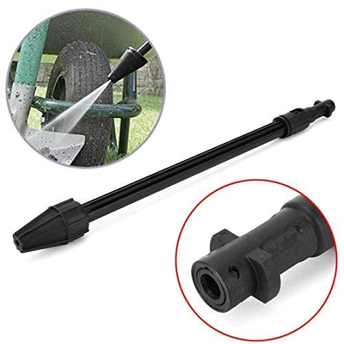 Paytion Hochdruckreiniger Reinigungslanze Rotationsdüse Turbo Power Lanze für Kärcher K2 K3 K4 K5 K6 K7-Serie (schwarz)