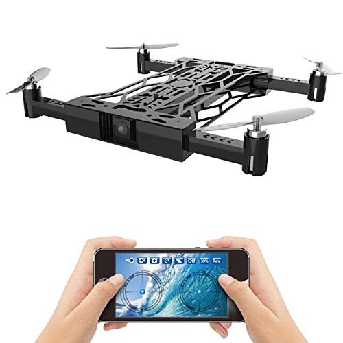Opvouwbare WiFi RC Quadcopter met Camera FPV HD LuchtFotografie Drone Voice Control Gravity Sensor Altitude Hold Traject Flight for Boys Gift lili