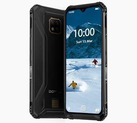 DOOGEE S95 (2020) - Smartphone Rugged Modulare, HELIO P90 Octa-Core 6GB RAM 128GB ROM, 48 MP Tripla Fotocamera AI, IP68 Cellulare Impermeabile Antiurto Android 9.0, 6,3 FHD +, NFC, Ricarica Wireless