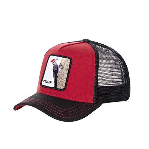 Goorin Bros. Gorra de béisbol para hombre, cierre trasero ajustable, moda y fantasía Pecker Talla única