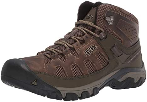 KEEN mens Targhee Vent Mid Hiking Boot Olivia Bungee Cord 10 5 US product image
