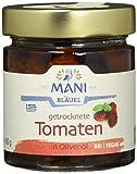 MANI ΜΑΝΙ Getrocknete Tomaten in Olivenöl, bio, 2er Pack (2 x 180 g)