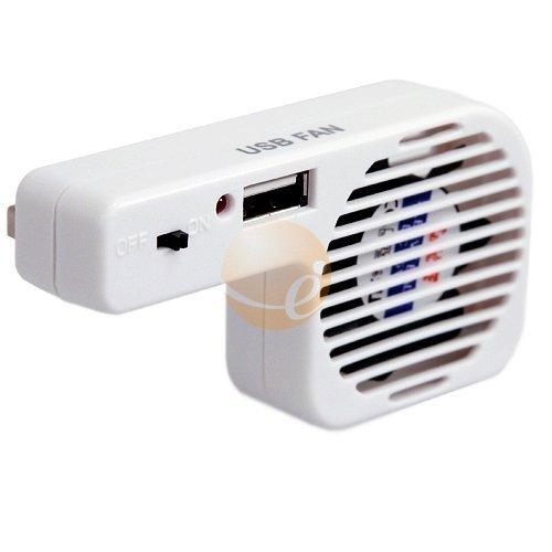 DealMux Nuevo Puerto USB Ventilador de refrigeración Cooler System para Nintendo Wii