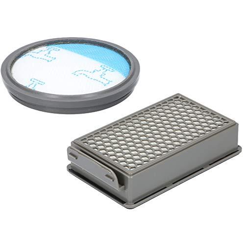 Filterset für Rowenta RO3731EA Compact Power Cyclonic Staubsauger, enthält 2 Filter - 1x Filterkassette, 1x Rundfilter, Alternative für ZR005901