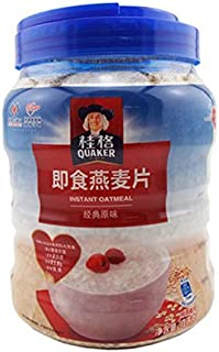 ???Quaker????? ???? ????? 1000? ?? Quaker breakfast cereal dietary fiber instant oatmeal 1000g canned