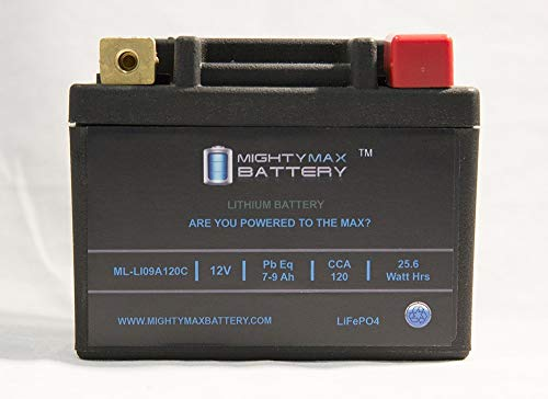 Mighty Max Battery LiFePO4 12V 7-9ah Battery for KYMCO Mongoose 90 90CC All Years Brand Product