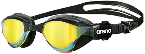 Arena Cobra Triirror Swimming Goggles, Unisex Adult, Black (revo), One Size