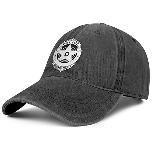 LQIAO Dallas Texas Police Department Baseball Caps Unique Ball Hat Unisex