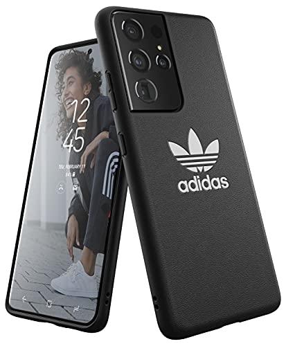 adidas Handyhülle Entwickelt für Samsung Galaxy S21 Ultra, Fallgeprüfte Hüllen, Stoßfeste Erhöhte Kanten, Original Schutzhülle, Schwarz