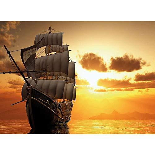 YTHK Nova 1000 Piece Nuovi orizzonti Vela Open Puzzle-Usato per Sea-Go Veliero Puzzle per Adulti 1000 Parti-Turchia