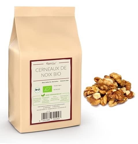Cerneaux de Noix BIO 1kg - Morceaux - Fragments de cerneaux de noix sans sel italiennes de la région de la Campanie