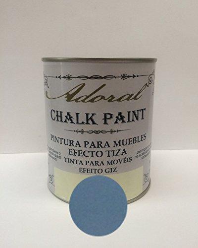 Pintura A La Tiza Azul Profundo Marca ADORAL