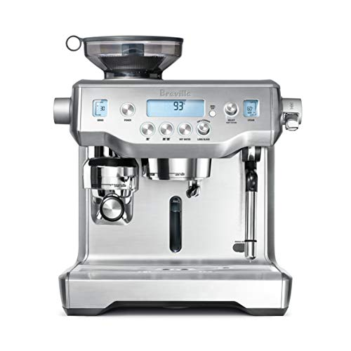 Breville BES980XL Oracle Espresso Machine, Brushed Stainless Steel