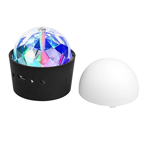 RGB LED Mini Ball Discokugel Kinder Discolicht Musikgesteuert Disco Lichteffekte für Parties Kinder Geburtstag Club Kleines Geschenk
