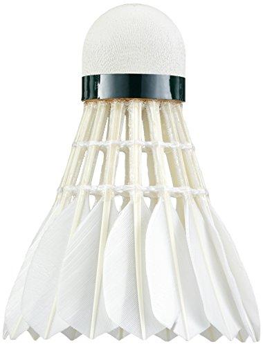 YONEX Federbälle Aerosensa 30, 12 Stück, Weiß