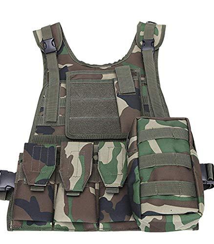 ThreeH Cumplimiento de la ley Chaleco táctico militar Paintball Gear Equipo de...
