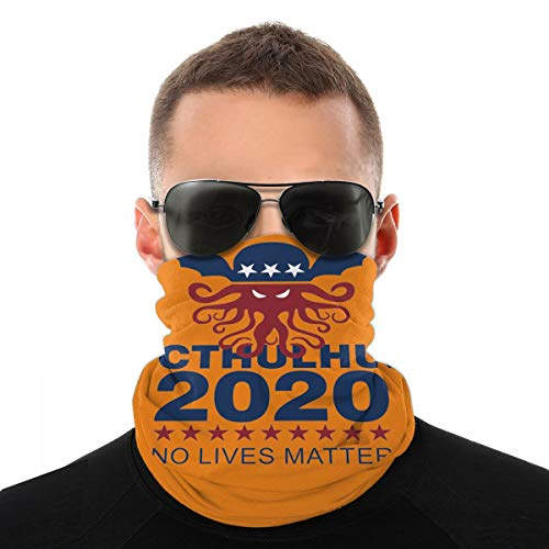 Pekivide Maske Schutzmaske Cthulhu 2020 No Lives Matter Sturmhaube Maske