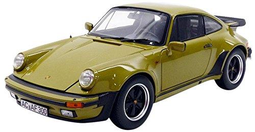Norev 911 Turbo 3.3L Coupe 1977 Porsche Vehículo en Miniatura, 187575, Verde Oliva, Escala 1/18