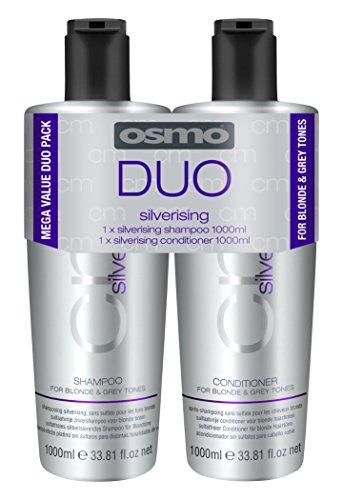 OSMO Silverising Shampoo - 1Liter/Conditioner 1Liter