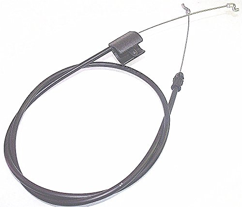"""YUESUO 2 Pack STOP-CONTROL-CABLE-FITS-946-04661-746-04661-MTD-TROY-BILT-21-034-DECK-74604661-Generic Aftermarket Part (Cable Leng 51-1/2""""-946-04661 746-04661 946-04661A)"""