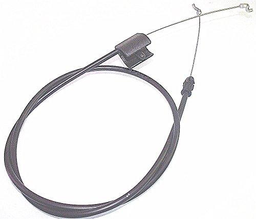 "2 Pack STOP-CONTROL-CABLE-FITS-946-04661-746-04661-MTD-TROY-BILT-21-034-DECK-74604661-Generic Aftermarket Part (Cable Leng 51-1/2""-946-04661 746-04661 946-04661A)"