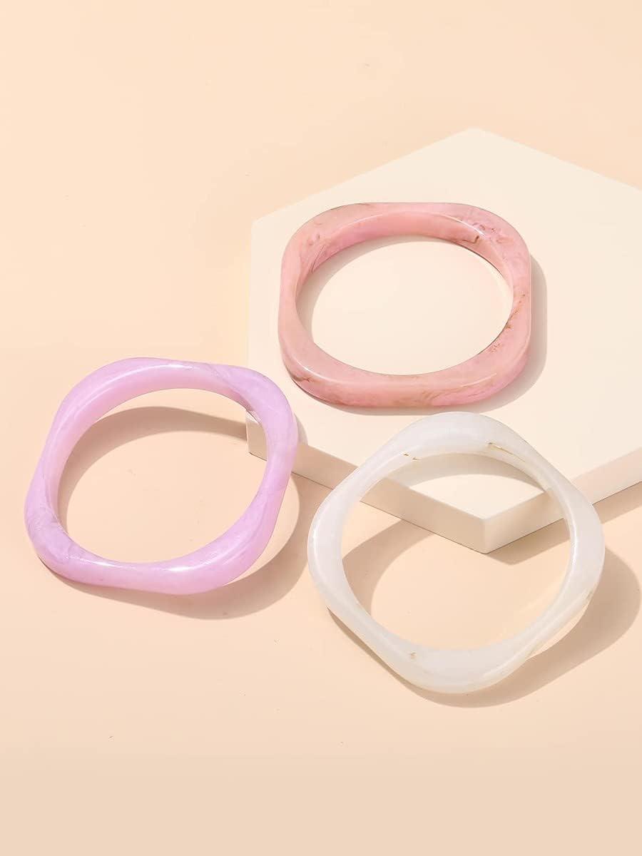 xiangshang shangmao Charm Bracelets Geometric Col Bracelet Spring new Max 57% OFF work 3pcs