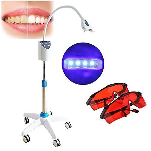 Aprodite Dientes dentales móviles que blanquean el acelerador de la luz de la lámpara LED de blanqueamiento del diente de la máquina