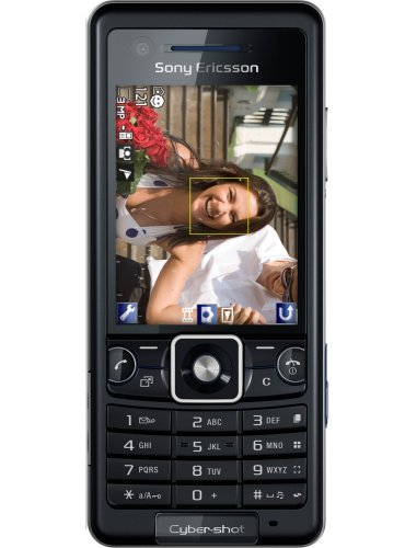 Sony Ericsson C 510 future black (cybershot 3.2 MP) Handy