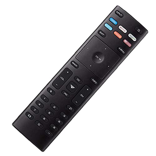 Tuimiyisou Control Remoto Universal de reemplazo de Control Remoto XRT136 de Control con configuraciones Simples Compatible con Smart TV VIZIO Rendimiento confiable