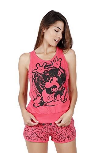 Disney Pijama Tirantes Mickey Hand para Mujer
