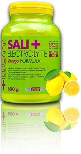 SALI+ ELECTROLYTE VITARGO FORMULA 600 g - +WATT (Limone)