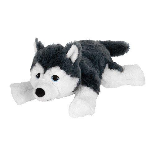 Unbekannt IKEA LIVLIG Stoffspielzeug Hund Sibirischer Husky; (26cm)