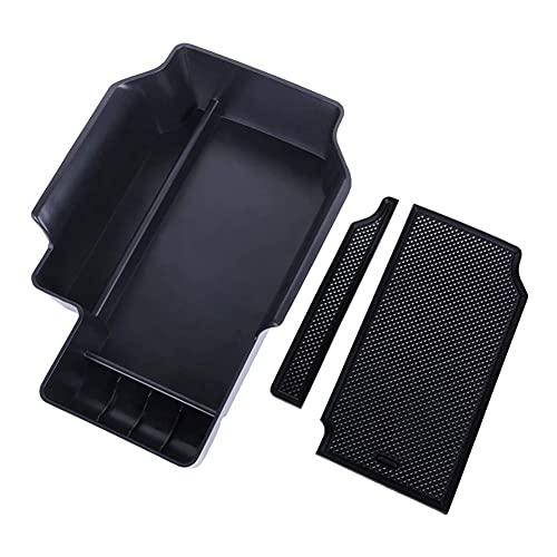 zhuzhu Ajuste para Chevrolet GMC Colorado Canyon 2015-2021 Centro de automóviles Consola Organizador Bandeja Bandeja Bandeja Cubby Cajas