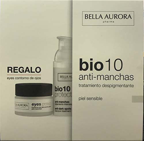 Bella Aurora pack BIO10 piel sensible anti-machas + Contorno Ojos