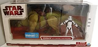 - Star Wars The Legacy Collection Dewback with Imperial Sandtrooper Exclusive Figure Set
