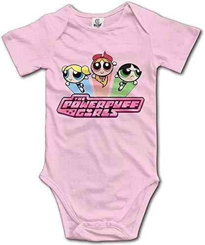 FGRFQ Babybekleidung Powerpuff Girls Custom Baby Unisex Rompers Jumpsuit Cotton