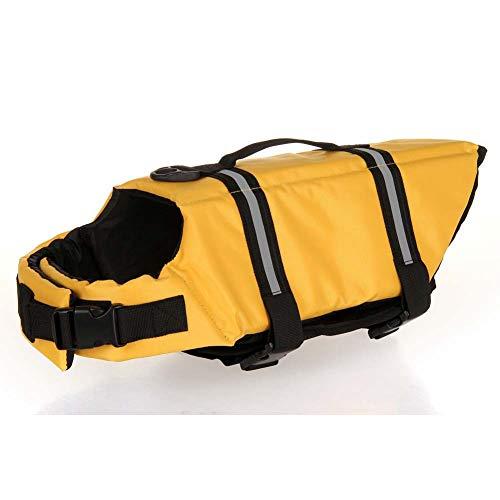 MRXUE Hond Life Jacket Hond Zwemkleding Huisdier Life Jacket Huisdier Veiligheid Badpak 8 Kleuren 7 Maten Gratis Te Kiezen