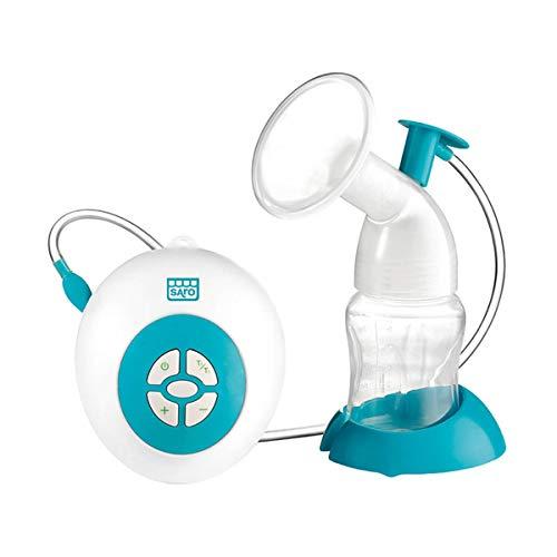 SARO – Extractor eléctrico de leche materna con adaptador de silicona, motor...