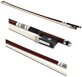 ViolinSmart Brazilwood Violin Bow Size 4/4 Great Sound